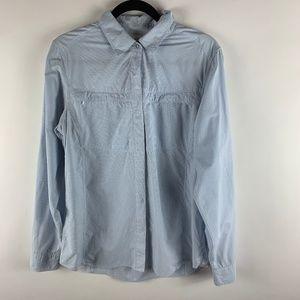 Insect Shield Women Shirt Nylon & Polyester Blue M